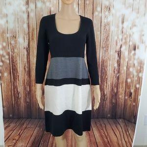 Sandra Darren Sweater Dress Size L